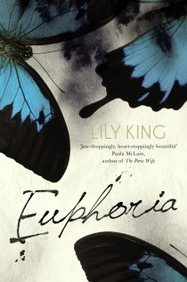 Euphoria by Lily King. Cover design by Natalie Winter