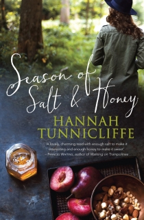 Season of Salt and Honey book cover by Hannah Tunnicliffe